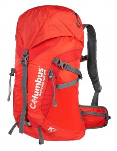 Columbus backpack 22 Red