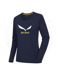 Salewa Solid Logo Azul