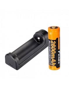 Fenix cargador are x1 y batería 18650