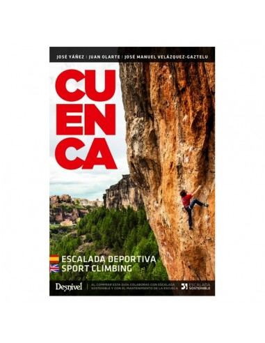 Desnivel Cuenca. Escalada deportiva